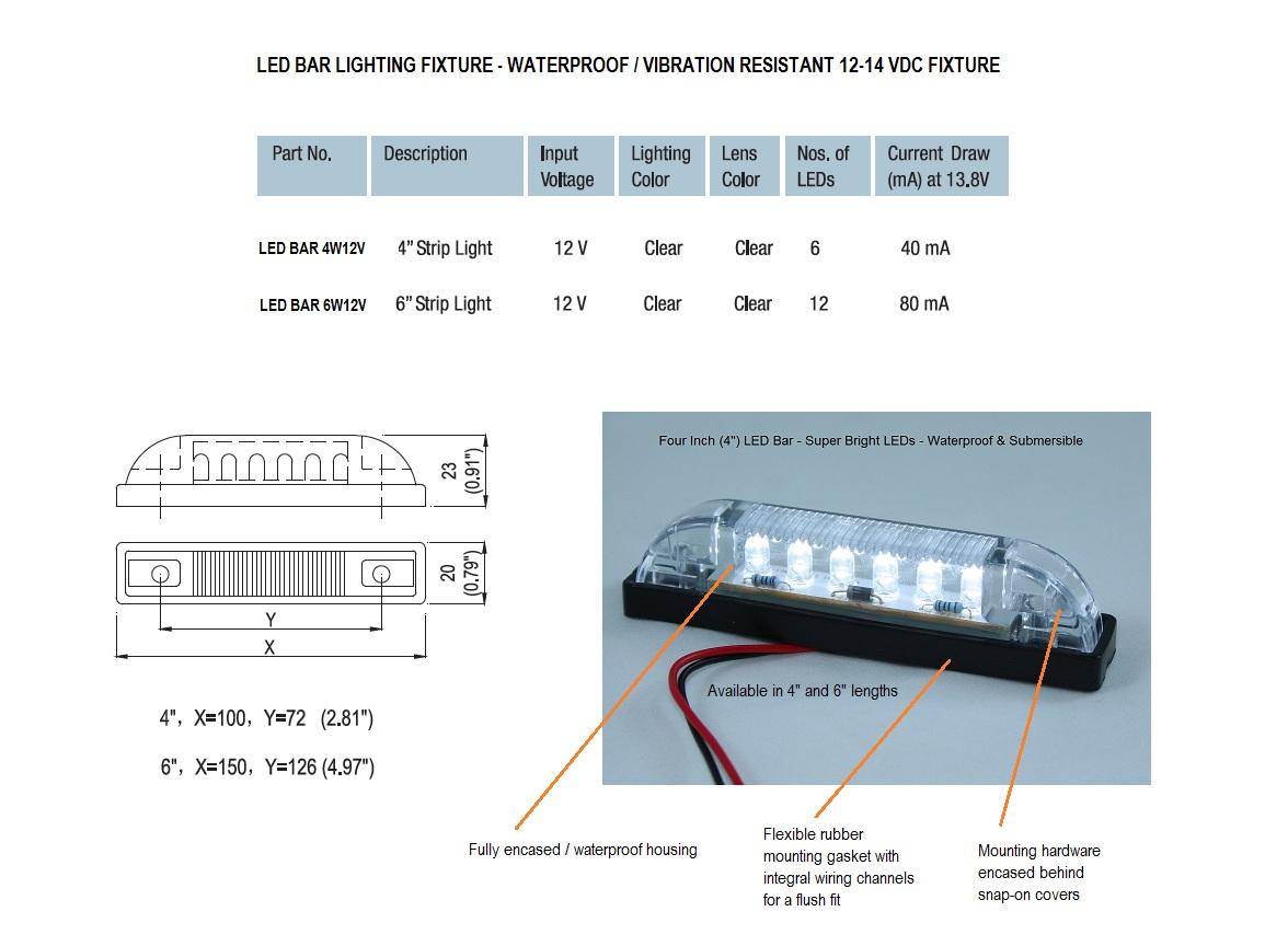 Waterproof LED Strip Lights - 4\