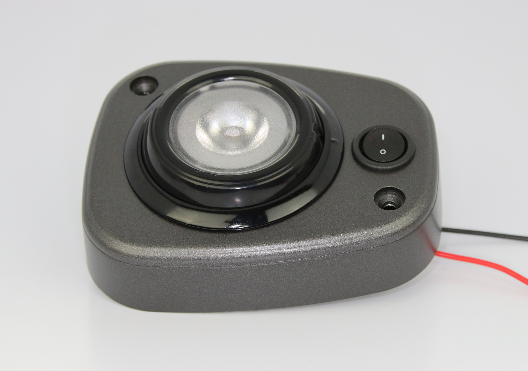 Compact Overhead EyeBall Lamp with On/Off Switch | PilotLights.net