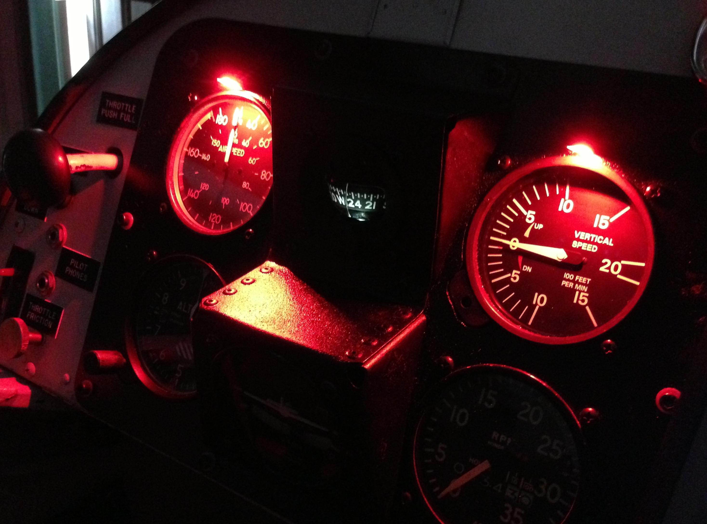 led panel post light 12 or 24 volt