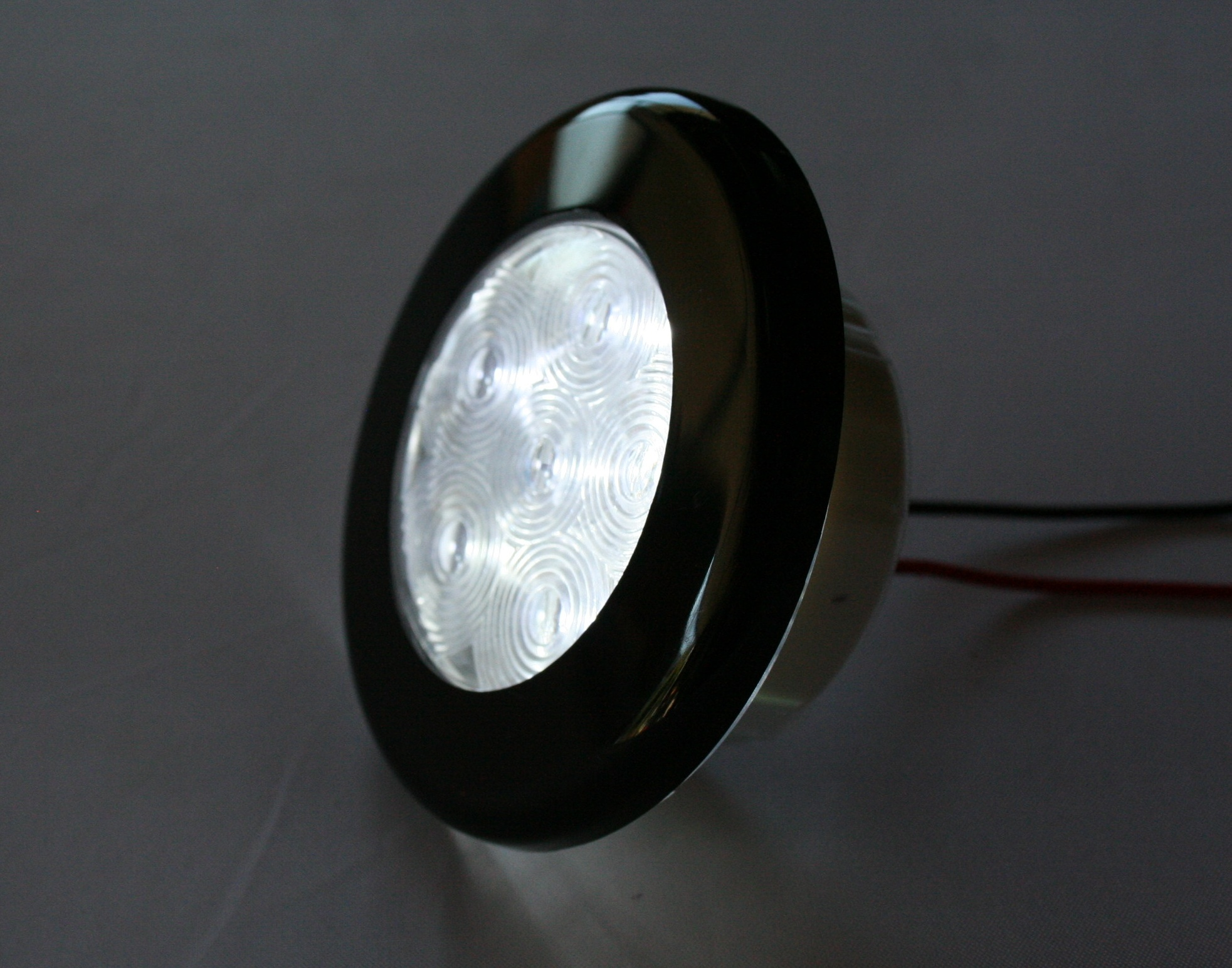 "3"" LED Recessed Cabin Light - White LED, 12VDC  PilotLights.net"