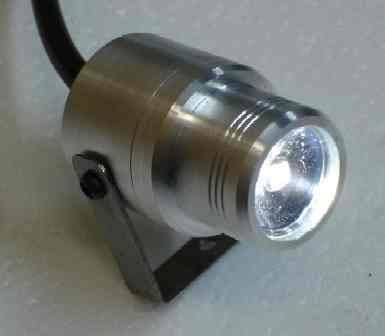 Mini Spot Light Silver Base Pilotlights Net
