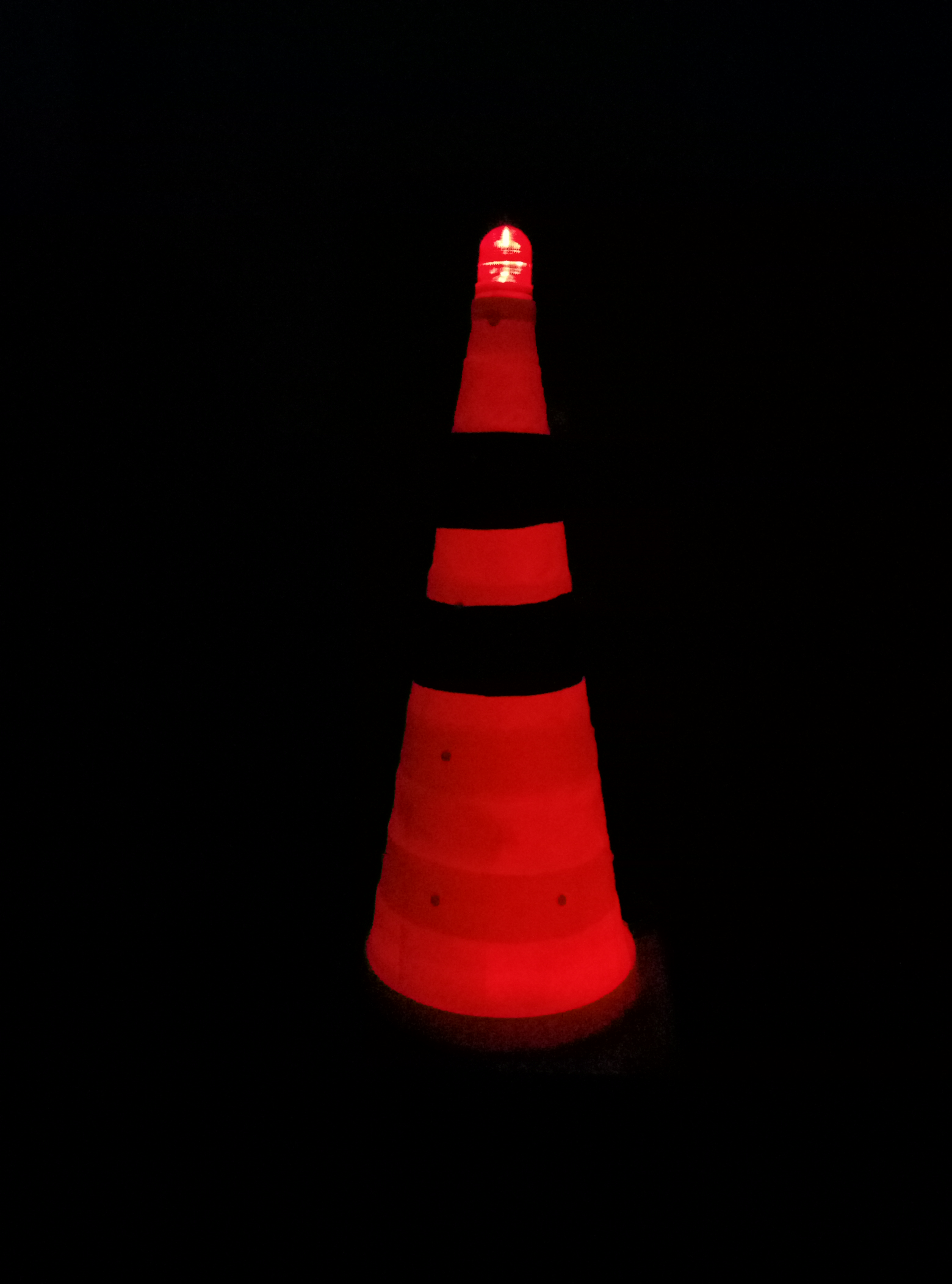 Solar Powered Safety Cone Airport And Construction