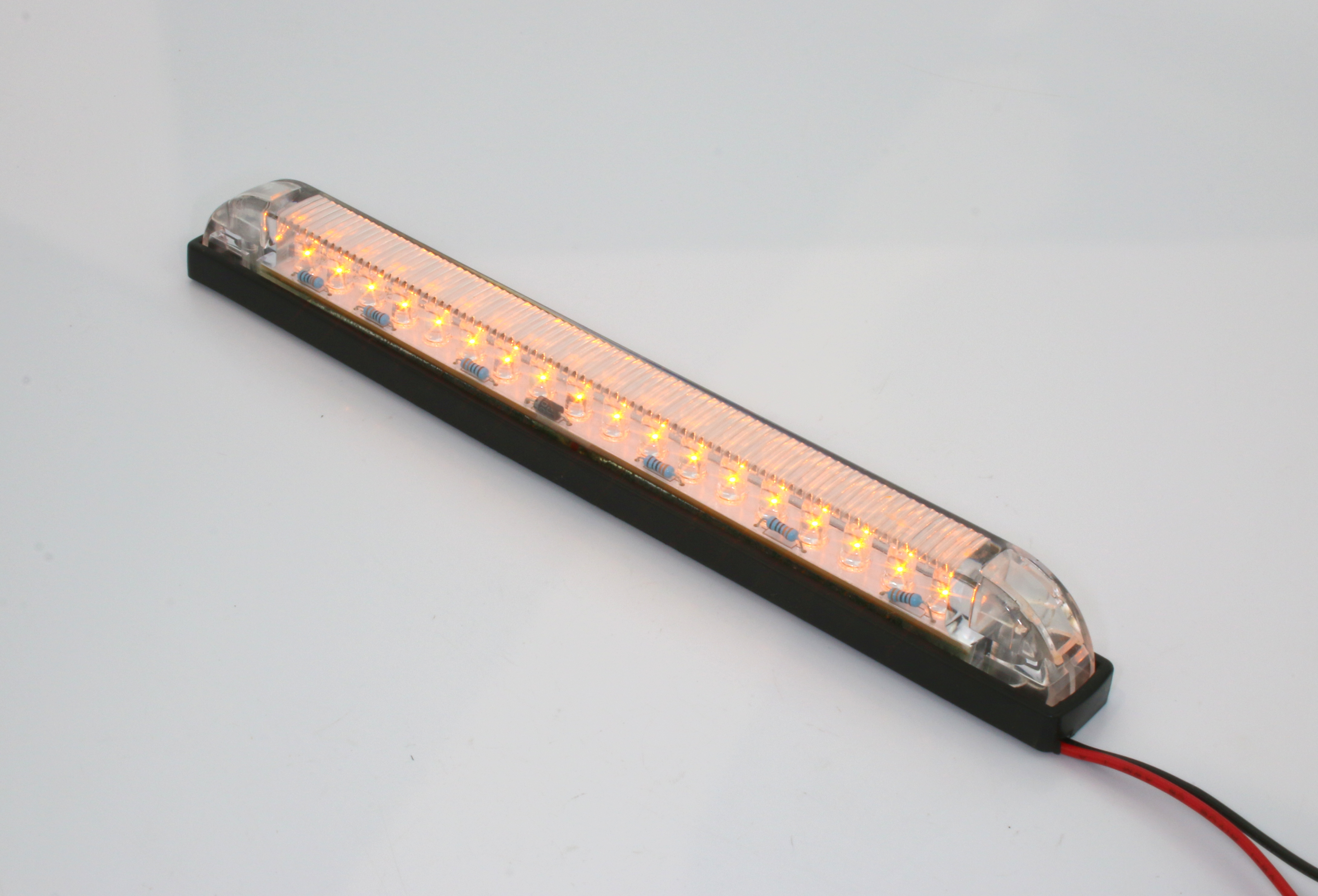 Red or amber led light strip heavy duty 12vdc 8 length red or amber led light strip heavy duty 12vdc 8 length aloadofball Image collections